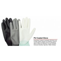 Quality Non Slip Work General Purpose Latex Coated Gloves - Medium
