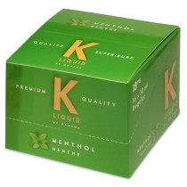 K Liquid Premium Quality E-Liquid - Menthol - 18mg - 10ml