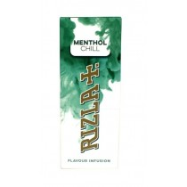 Rizla Flavour Infusion Premium Quality Flavour Cards - Menthol Chill - Pack of 25 Cards