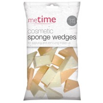 Cosmetic Sponge Wedges - Pack of 14