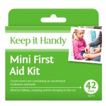 Mini First Aid Kit - Pack of 42 Pieces