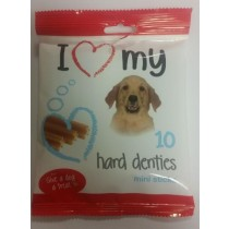 Give A Dog A Treat - Hard Denties Mini Sticks - Pack Of 10