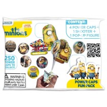 MINION POWER CAPS FUN PACK - 4 POWER CAPS + 1 SHOOTER + 1 POP UP FIGURE