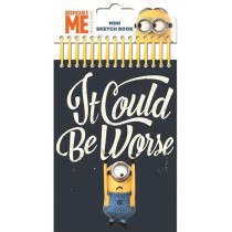 Despicable Me Minion Mini Sketch Book