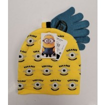 Despicable Me Kids Minion Hat and Gloves