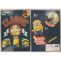 Despicable Me Classic Sticker Pad - Over 30 Stickers And 7 Full Colour Scenes