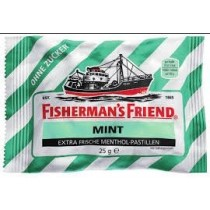 Fisherman's Friend - MInt - Extra Frische Menthol - Pastillen - 25 Grams