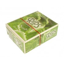 Rips Flavoured Cigarette Paper Rolls - Mint - Pack Of 24 Rolls