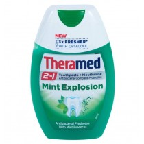 Theramed 2-in-1 Toothpaste + Mouthrinse - Mint Explosion - 75ml