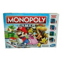 Hasbro Gaming Nintendo Monopoly Gamer - 2-4 Players - 40 x 27 x 4cm - For Kids Age 8+