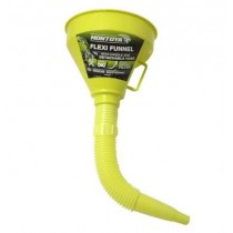 Montoya 3 Piece Flexi Funnel with Handle & Detachable Hose - 14cm - Green