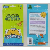 MR HAPPY COOLING GEL SHEETS FOR COOLING RELIEF - PACK OF 2 - EXP 05/18