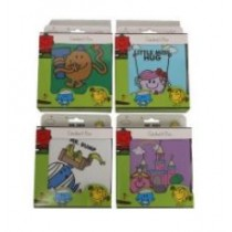 Mr Men And Little Miss Sandwich Box - 4 Assorted Designs - Designs May Vary