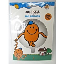Little Miss Princess And Mr Tickle Birthday Party Foil Balloons - Assorted - 45Cm