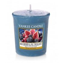 Yankee Candle - Samplers Votive Scented Candle - Mulberry & Fig Delight - 50g