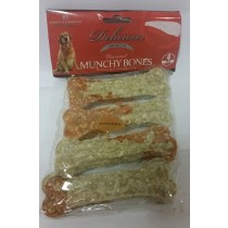 MUNCHY BONES FOR DOGS - CHICKEN - PACK OF 4