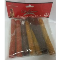 MUNCHY CHEW ROLLS FOR DOGS - PACK OF 8