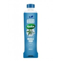 Radox Muscle Soak Bath Soak with Sage & Sea Minerals - 500ml