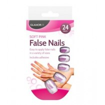 Glamorize Soft Pink False Nails - Pack of 24