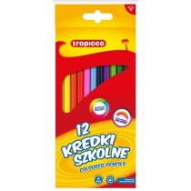 Tropicco Coloured Pencils - Assorted Colours - Pack of 12