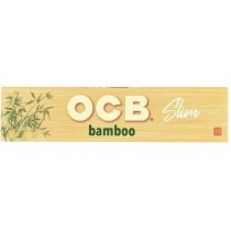 OCB Bamboo Unbleached Rolling Papers - Slim - Pack of 50
