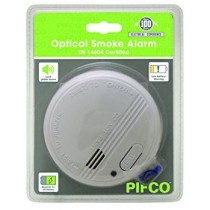 Pifco Optical Smoke Alarm - White