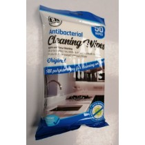 Every Day All Purpose Antibacterial Cleaning Wipes with Improved Quality - Original - Pack of 50 - Exp: 07/22