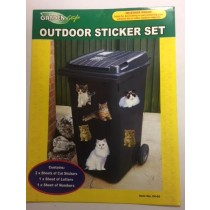 Weatherproof Outdoor Sticker Set