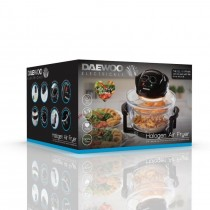 Daewoo Electricals 12L Halogen Air Fryer - 36.5 x 23 x 36cm