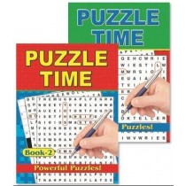 Powerful Puzzles - Puzzle Time Book - 27 x 20cm