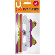 U Party Happy Birthday Eye Masks - Pack of 8