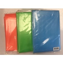 Plastic Shower Curtain - Assorted Colours - 180 x 180cm