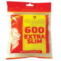 Palmer Premium Quality Extra Slim Filter Tips - Pack of 600 Filter Tips