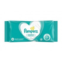 Pampers Sensitive Baby Wipes - Fragrance Free - Pack of 52