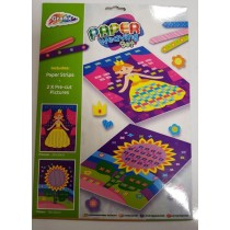 GRAFIX PAPER WEAVING SET - 2 PICTURES