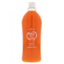 Pampered Love to Soak Creme Bath - Peach - 1 Litre