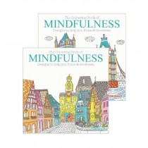The Colouring Book of Mindfulness 1 & 2 - 21 x 21cm - Assorted Designs