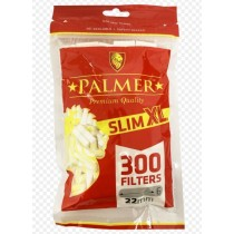 Palmer Premium Quality Slim XL Filter Tips - Pack of 300 Filter Tips
