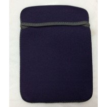 EXTRA PROTECTION PADDED NEOPRENE FABRIC TABLET CASE - COLOURS MAY VARY - 21.5cm x 16cm