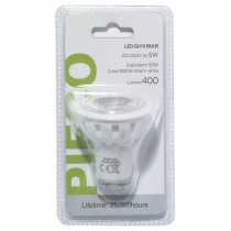 PIFCO LED BULB WITH PLASTIC COVER - GU10