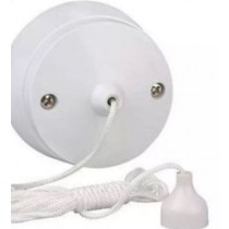 6 Amp 1 Way Ceiling Light Switch With Pull Cord