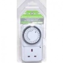 Plug In Energy Saving 24 Hour Programmable Timer Switch Socket