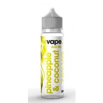 88 Vape Shortfill E Liquid - Pineapple & Coconut - 75% Vg - 50Ml