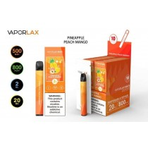 VaporLax Mate Disposable Vape Device - Pineapple Peach Mango - 20mg - 2ml - 800 Puffs