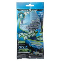 Power Edge Blade 2 Disposable Razor - Pack Of 4