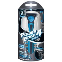 Power Edge System 4 Cartridge Razor - Pack Of 5