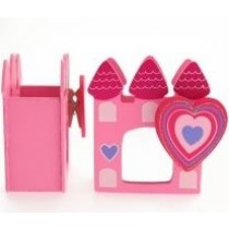 Princess Accessory Pot - Pink