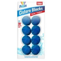 Prism Value Fragranced Toilet Blocks - Pack Of 8