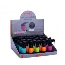 Prof Jerrican Rubber Blueflame Lighter - Assorted Colours