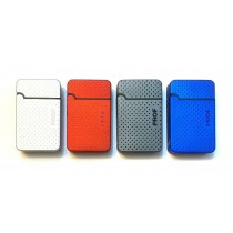 Prof Single Blue Flame Electronic Refillable Lighter - Metal Dots - Assorted Colours